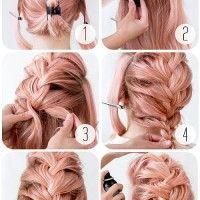 mohikán konty Braided Hairstyles Tutorials, Bobby Pins, Braids, Hair Accessories, Stylish, Hair Styles, Beauty, Hairdos, Bang Braids
