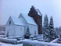 Our Beautiful Danish Church Danish, Denmark, Outdoor, Beautiful, Outdoors, Danish Pastries, The Great Outdoors
