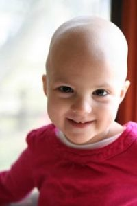 """While battling with Acute lymphoblastic leukemia, 2-year-old hero, Brinley, taught her parents """"how to find the beauty when life gets hard, because there is always beauty to be found."""""""