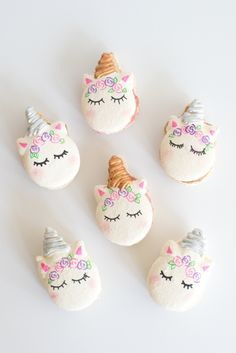 Adorable Magical Unicorn Party Ideas + A sweet Giveaway & Pin by Kelly Meehan on Macaron designs | Pinterest | Macarons Bunny ...