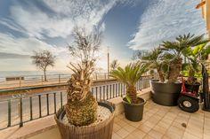 Vacker lägenhet first line i Molinar, Palma de Mallorca. 2550€/mån.