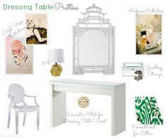 ikea dressing table - dress it up