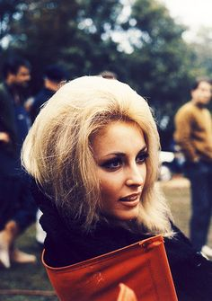 Sharon Tate on the set of Eye of the Devil (1966)