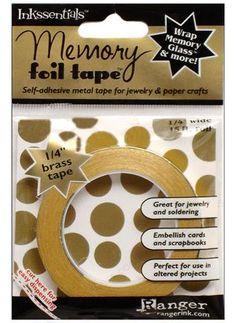Inkssentials Memory Foil Tape - Brass - Ranger