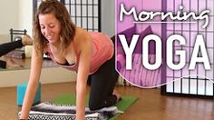 Morning Yoga - Quick 10 Minute Wake Up Flow. Energize & Become Focused - YouTube