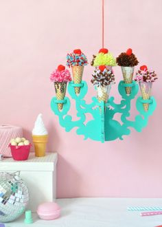 DIY Ice Cream Chande