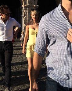 海外セレブニュース&ファッションスナップ: 【テイラー・スウィフト】今度はイタリア!恋人トム・ヒドルストンとローマを観光!