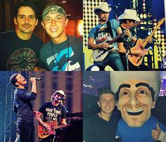 brad paisley & scotty mccreery. 2/3 of the best concert ever <3