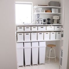 68 Ideas closet shelves organisation house for 2019 Closet Shelves, Closet Storage, Locker Storage, Corner Closet Organizer, Diy Locker, Minimalist Room, Japanese Interior, Room Setup, Kitchen Items