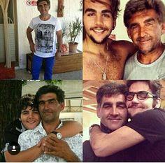 Ignazio con su papa