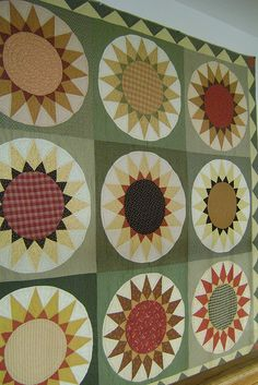 Sunflower Quilt xxx