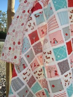 Little Red Riding Hood couldnt be sweeter than in this print by Aneela Hoey for Moda fabrics named A Walk in The Woods. Apples,