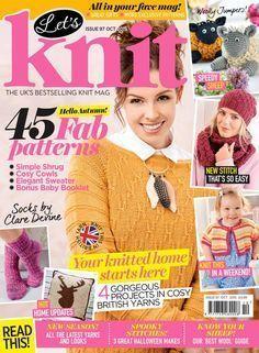 Lets Knit Issue 97 2015 - 轻描淡写 - 轻描淡写