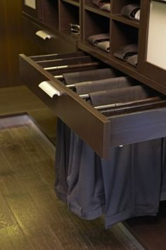 Closet Design .:. Storage Solutions for Men