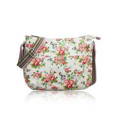 Crossbody kabelka Vintage Flowers. Pohodlné nošení a hodně místa!