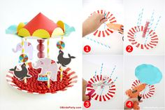 Great ideas for an amazing Circus party celebration to remember.