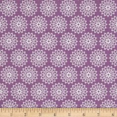 Riley Blake Lovey Dovey Lace Purple from @fabricdotcom  Designed by Doodlebug Design for Riley Blake, this cotton print fabric is perfect for quilting, apparel, crafts, and home decor items.