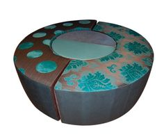 The Ottoman from Jenny's Blocks = 3,600 dollars. Styrofoam, water resistant and warm to sit on