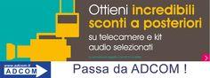 Acquista un prodotto in promozione tra Sony PXW-X160 ,PXW-X180 ,PXW-X200 ,PMW-300K1 ,UWP-D11 ,UWP-D12,UWP-D16 e dal 1° novembre 2015 al 31 dicembre 2015 riceverai uno sconto  Info : https://www.adcom.it/news.php?lang=it&idliv1=5&idn=195