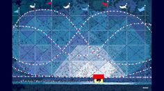97-yr old Grandpa Create Gorgeous Pixel Art > To still create at that age, lovely art in Word Paint medium.