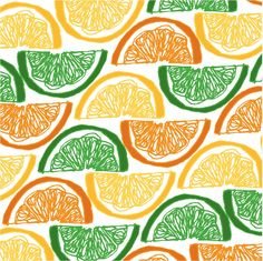 A Pattern of oranges