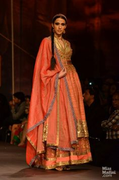J J Valaya at Indian Bridal Fashion Week, 2013.