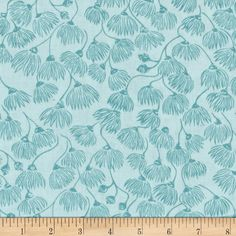 Designed by Ink & Spindle for Cloud 9 Fabrics. This certified 100% organic cotton print fabric meets the GOTS certification; only low impact, organic dyes were used in this product. This fabric is perfect for quilts, home decor accents, craft projects and apparel. Colors include shades of turquoise.