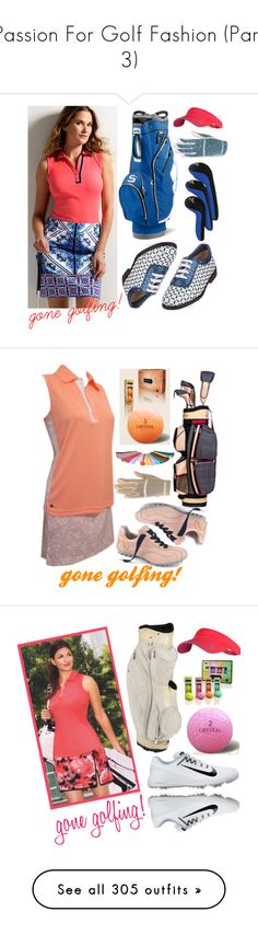 """""""Passion For Golf Fashion (Part 3)"""" by lorisgolfshoppe ❤ liked on Polyvore featuring Jofit, lorisgolfshoppe, NIKE, adidas, Home Decorators Collection, Balmain, Marc Jacobs, MAC Cosmetics, New Balance and Greg Norman"""
