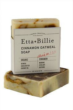 BRIKA.com | Oatmeal Cinnamon Soap (Set of 2) | $18