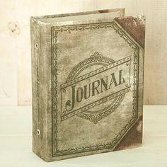 Advantus Tim Holtz Idea-ology Worn Cover Journaler - Stampington