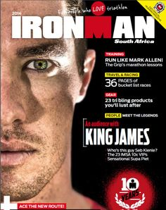 Safrea photographer Chris Hitchcock shot this front page pic of South Africa's top triathlete, James Cunnama, from Port Elizabeth for the 2014 Iron Man magazine. Great pic, Chris! Find Safrea at www.safrea.co.za and follow Chris on Twitter: @ChrisH_Photos; visit his website here:  http://www.chrishitchcock.co.za/