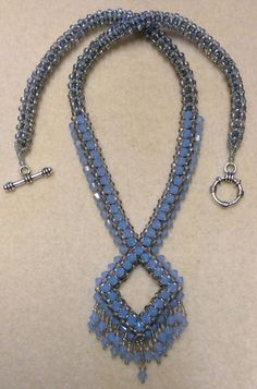 Diamond Rope Necklace Tutorial Part One (CRAW) ~ Seed Bead Tutorials