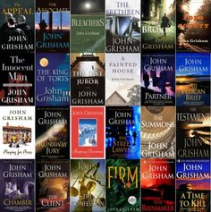 John Grisham...I love all his books!