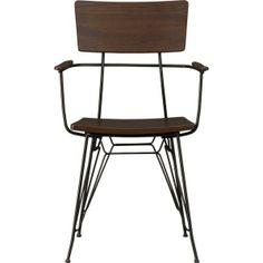 Crate & Barrel  Elston Arm Chair