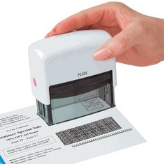 Stamping out your personal info is the new shredder, sorry shredder.