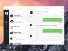 WhatsApp for Mac (Yosemite)