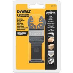 DEWALT DWA4203 Bi-Metal Oscillating Blade for Wood with Nails