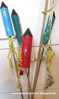 Kita - Ideenkiste! Nicht nur für ErzieherInnen!: Raketen basteln