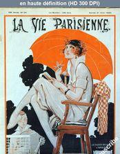 LA VIE PARISIENNE August 21, 1920.  numéro 34 du 21 août 1920