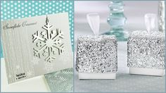 Silver Winter Wedding Favor Ideas HotRef