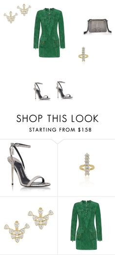 """Bonheur Jewelry x Balmain"" by bonheurjewelry ❤ liked on Polyvore featuring Tom Ford, Chanel and Balmain"