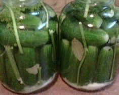 Kovászos uborka télire   Lajosné Nusi Varju receptje - Cookpad receptek Pickles, Cucumber, Vegetables, Food, Essen, Vegetable Recipes, Meals, Pickle, Yemek