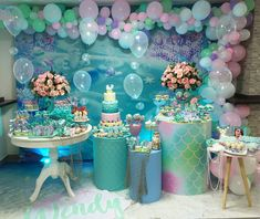 Advertisement - Mermaid Party Supplies Birthday Decorations for Girl's Party and Baby banner net Mermaid Theme Birthday, Little Mermaid Birthday, Little Mermaid Parties, Mermaid Party Decorations, Birthday Party Decorations, Birthday Parties, Under The Sea Party, Creations, Party Ideas