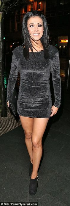 Kym Marsh wears ANOTHER black dress for an evening out with friends Curvy Girl Outfits, Sexy Outfits, Sexy Dresses, Sexy Older Women, Sexy Women, Kym Marsh, Beautiful Dresses For Women, Beautiful Legs, Seductive Women