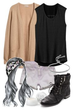 """""""Malia Inspired Outfit"""" by veterization ❤ liked on Polyvore featuring H&M, Abercrombie & Fitch, Eve Lom, Sam Edelman, Athleta and Monica Vinader"""