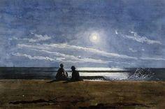Moonlight 1874, Winslow Homer