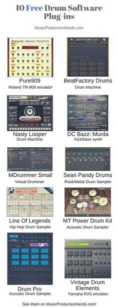Best free drum software plugins Beat Assist Nasty Looper, DistroCore DC Bazz::Murda, SampleScience Vintage Drum Elements, Monade Sounds and more. Dj Music, Music Guitar, Indie Music, Soul Music, Music Stuff, Guitar Art, Sheet Music, Music Software, Guitar