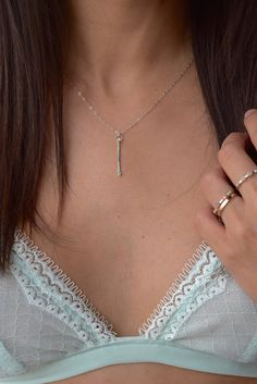 * PLEASE ALLOW UP TO 3-5 BUSINESS DAYS FOR THIS ITEM TO SHIP STYLE |Delicate pendantFINISH | Hammered Sterling Silver CHAIN | 14k Gold filled, Sterling Silve