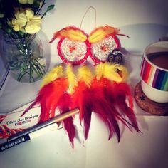 Owl dreamcatcher by Olivia Sue Designs