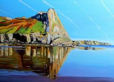 Great Tor by Gower artist Emma  Cownie